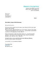bewerbung anschreiben muster - Anschreiben Fr Initiativbewerbung
