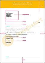 muster bewerbungsschreiben din5008 - Format Bewerbung