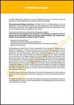 praktikumszeugnis muster - Praktikumsbeurteilung Muster