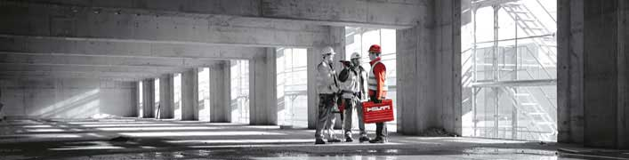Showroom von Hilti