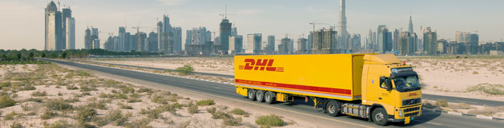 Showroom von Deutsche Post DHL