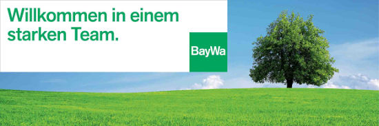 Showroom von BayWa